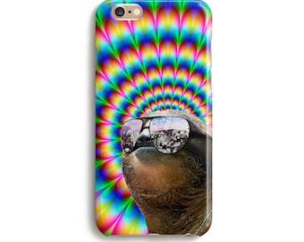 Trippy Sloth - iPhone 7 case, Samsung galaxy S7 case iPhone 6 iphone 7 plus samsung galaxy S6 ...