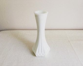 Hoosier Milk Glass Vase