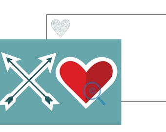 XO Blue Valentine