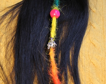 Rainbow single dread clip