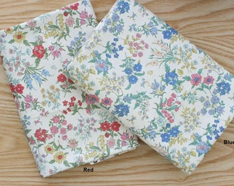 Cotton Fabric in 2 Colors By The Yard