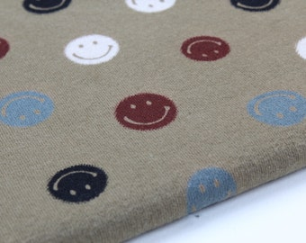 Slightly Brushed Rib Knit Fabric Smile By The Yard