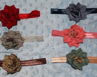 "3"" dahlia flower headband"
