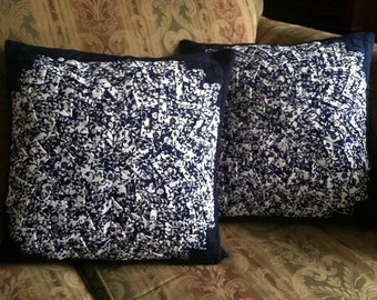 "quilted ""Somerset Star"" pillows matching set"