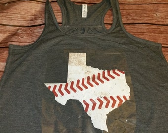 Baseball, Baseball Tank, SOftball Tank, Tank Top, Sports Tank