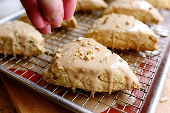 Maple Oat Scones - Pastries, Breakfast, Baked Goods, Home made Baked ...