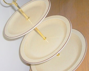 Poole Broadstone 3 Tier Cake Stand Cup cake stand