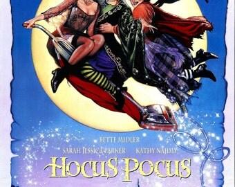 Hocus Pocus Semi-gloss A4 Poster