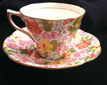 Rosina Chintz Cup and Saucer