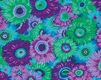 1/2 yard  Philip Jacobs Zany Purple Fabric PJ079