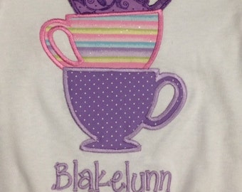 Stacked Teacups Shirt
