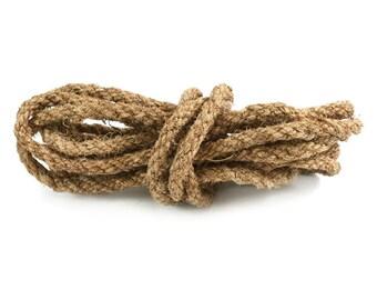 Natural Coconut Fiber Rope, 12mm, 5.5 Yards