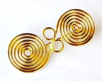 Spectacle Brooch Replica - [07 Fi Spiralfibel/N1 D-2]