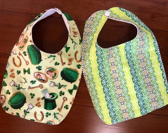 Irish Baby bibs set of 2
