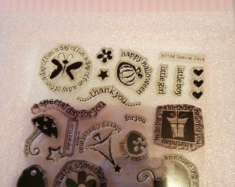 Special Days stamp set