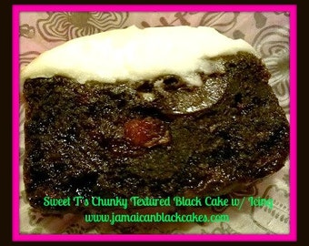 Jamaican Black Cake Chunky