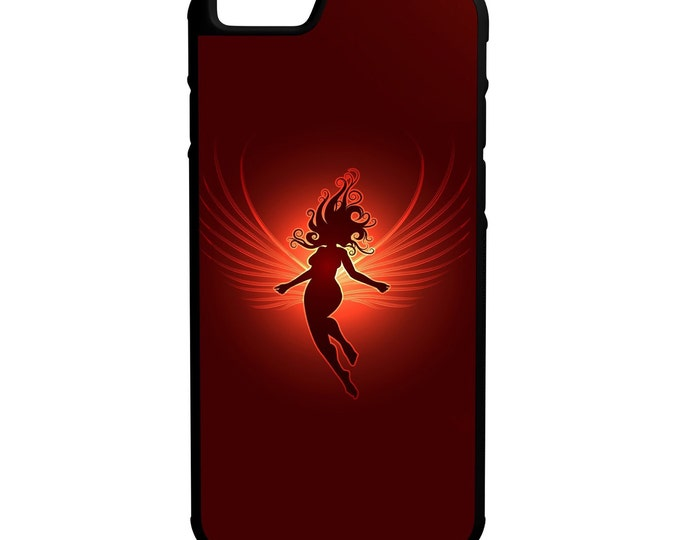 Tinker Bell iPhone Galaxy Note LG HTC Hybrid Rubber Protective Case