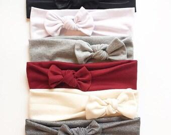 Neutral Solid Headbands