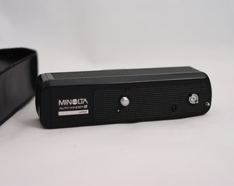 Minolta Auto-winder G - motor winder for your Minolta XG camera