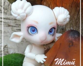 Tiny BJD, Feadoll, small Mimu BJD Aries 9cm BJD of artist, draw Pro