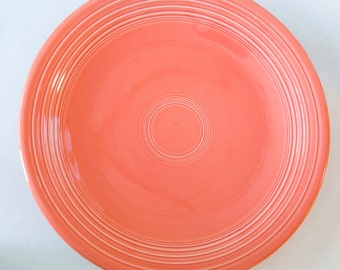 Persimmon Fiesta Ware Serving Plate