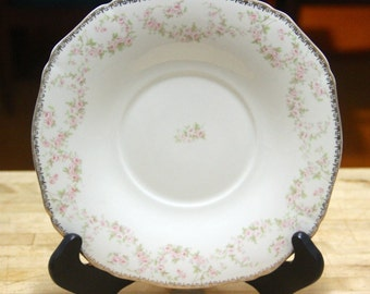 """Vintage 1950's Alfred Meakin """"Harmony Rose"""" cake or dinner  plate"""