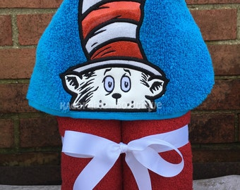 Dr. Seuss, Dr. Seuss Hooded Towel