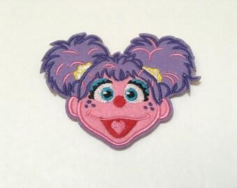 Sesame Street - Abby Cadabby Iron On Patches