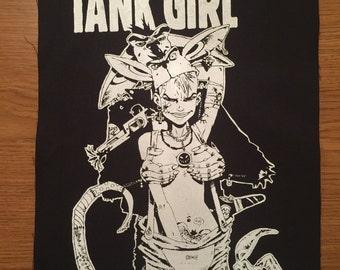 Tank Girl Cloth Back Patch