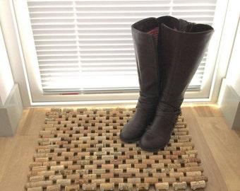 Multi-Use Wine Cork Floor Mat
