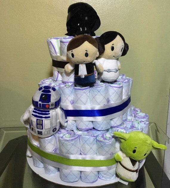 star wars baby shower star wars diaper cake disney baby shower