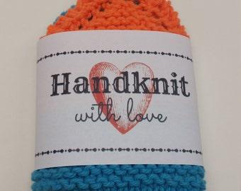 Scrappy Knit Dish/Washcloth