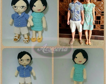 Amigurumi doll custom made