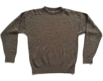sALe 30% off Vintage 90s Chunky Knit Boyfriend Sweater