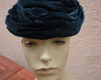 Fine Silk Mohair Edwardian-1920s Hat