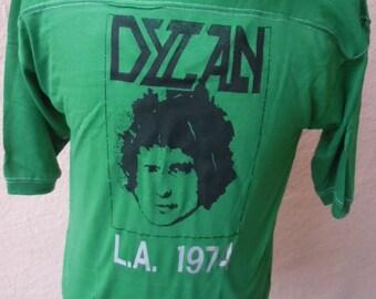 Size XL --  Dated 1974 Bob Dylan Shirt -- Deadstock Unworn