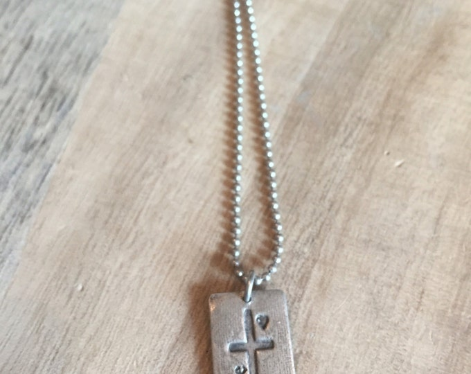 Faith, Love, Hope Pendant