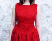 SALE - Red Chiffon Party ...