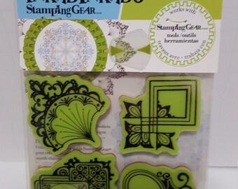 Inkadinkado Stamping Gear Stamp set