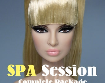 SPA Session Complete Custom Package For FR Nu Face Female Dolls