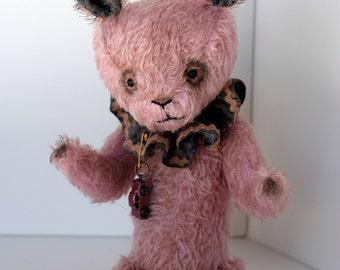 Pink Mohair Rabbit