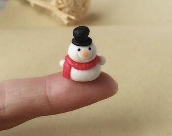 Miniature snowman  Etsy