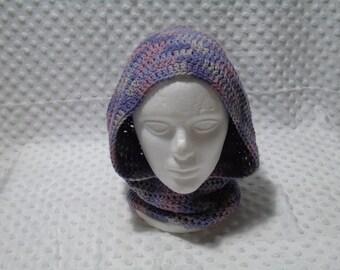 Shades of purple hood
