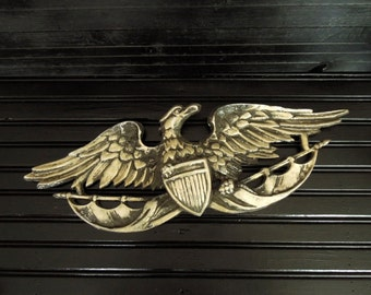 Wall Hanging Metal Eagle - Wall Decor American Eagle - Norleans Wall Art Vintage