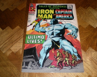 Tales of Suspense 77, Iron Man and Captain America, 1966, Marvel  ST