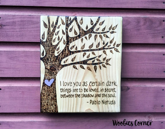 Custom wood sign personalized gift custom signs by for Home decor quotes signs