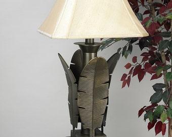 Tropical Leaves Lamp Etsy