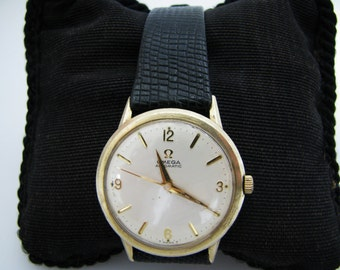 Nice Vintage 1965 Omega Automatic Watch in Gold Filled Case