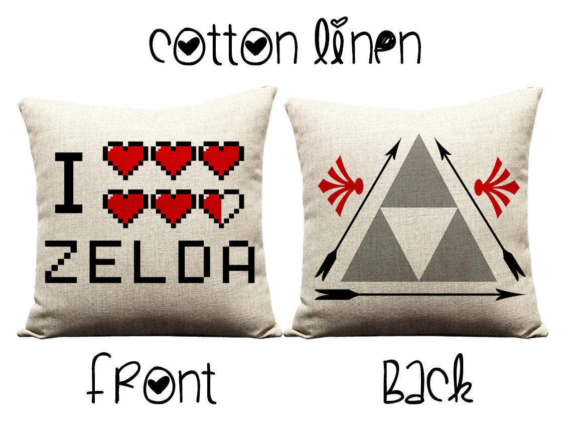 Zelda Throw Pillows : Zelda pillow throw pillows decorative pillows by GEEKandtheCHIC