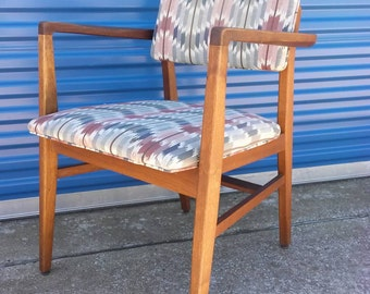Mid century B.L. Marble arm chair vintage retro Danish